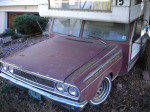 1966 Dodge Valiant Great Dale House Car - Front End