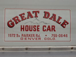 Great Dale House Car - Decal